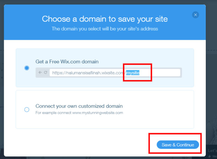 how to start a website for free - starting domain